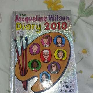 the jacqueline wilson diary 2010