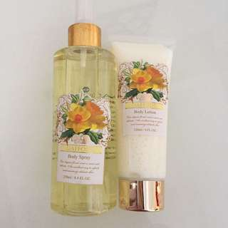 Daffodil Body Lotion And Mist