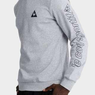 Le Coq Sportif Grey Jumper Hoodie Pullover
