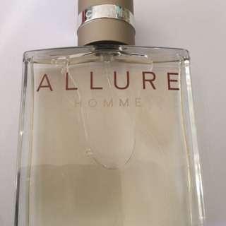 Chanel Allure Homme EAU De Toilette 100ml EDT Mens Perfume Tester New Genuine