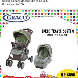 Grace Stroller And Infant Car seat