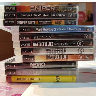 Sniper Games for PS3