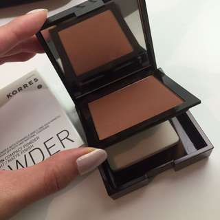 Korres Bronzer Beauty Compact Powder - Made From Coconut!