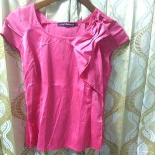 Baju Pita Pink 15rb
