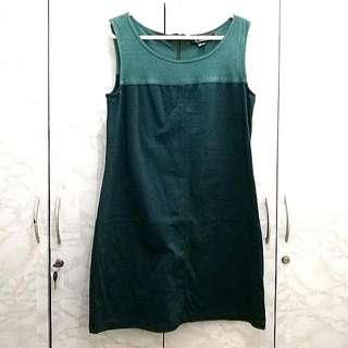Forever 21 Green, Loose Mini Dress