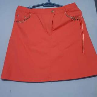 Pink Skirt Size 24 To 25