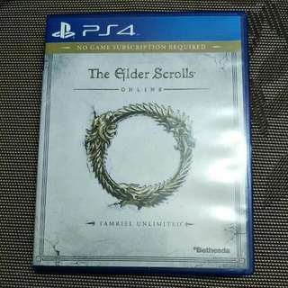 PS4 ELDER SCROLLS