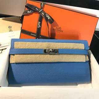 Hermes Kelly Wallet 2T