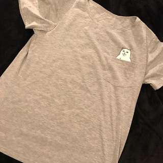 F**ck T-shirt - Grey Size s