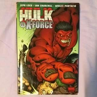 Marvel: Hulk vs X-Force (TPB)