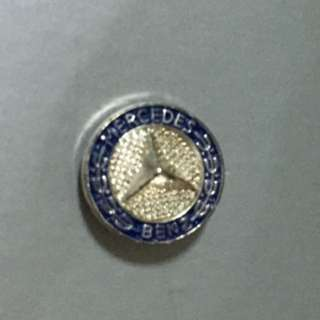 Mercedes Benz Star History Pin
