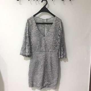 Aluna Dress In Grey