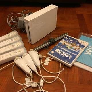 任天堂第一代(機連4個手制連Wii Sports光碟)