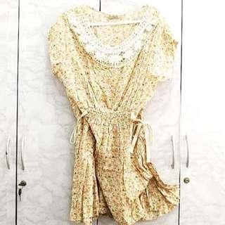 Betty Mini Floral Dress (S)