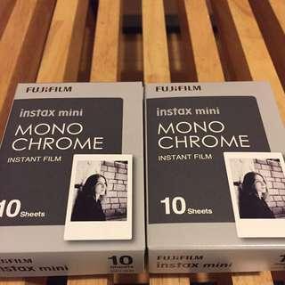 Fujifilm Instax Mono chrome Film x3