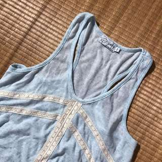 JUST G cropped top