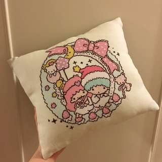 [NEW] Little Twin Stars Cross-stitch Cushion 十字繡