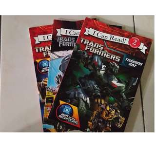 I can read level 2 transformers