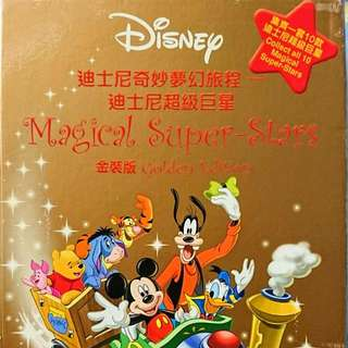 7-11 迪士尼 奇妙夢幻旅程 迷你公仔 金裝版 連盒 全套