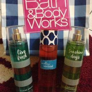 Bath And Body Works Usa Fine Fragrance Mist