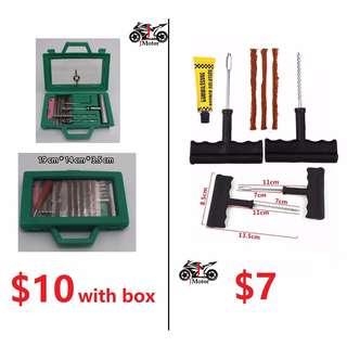 Tyre Repair Kit with Box Tyre Repair Kit / Tyre Worm Kit / Touring Kit