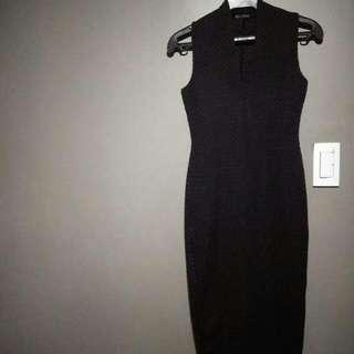 Black Zara Long Dress