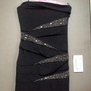 Valleygirl Black Dress
