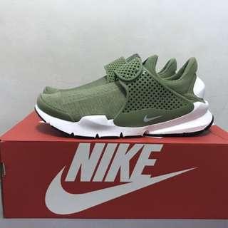 Nike Sock Dart Kjcrd 墨綠 US:10