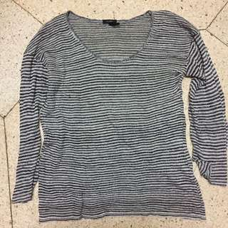 Stripes Knitted Sweater