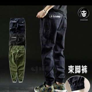 Subciety Cargo Jogger Pants