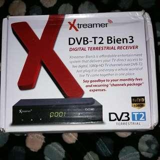 Xtreamer DVB-T2 Bien 3 Digital Receiver