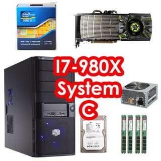I7-980X Desktop System