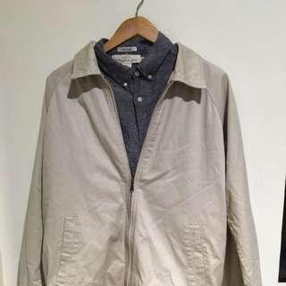 Office wear bundle Izod coat & h&m polo