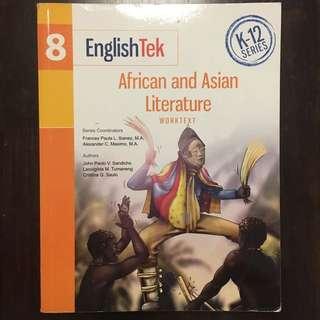 EnglishTek 8 Workbook & Literary Anthology