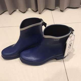 免運❤️全新AIGLE短版雨靴(寶藍色)39號
