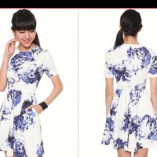 Lovebonito Floral Dress Size M