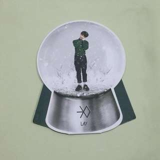 EXO Miracles In December Lay Snowglobe