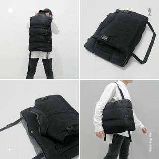 EEZ - Black Bag Vest.