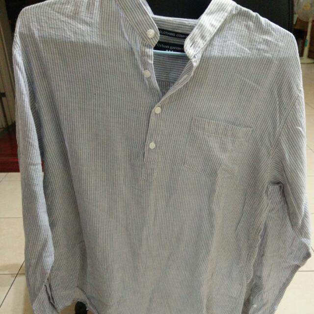 (全新)韓國帶回的藍色襯衫