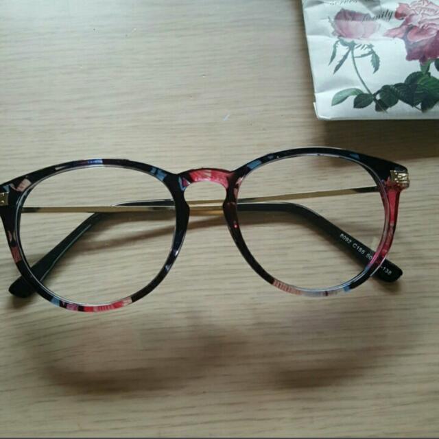 半透明花邊眼鏡💐