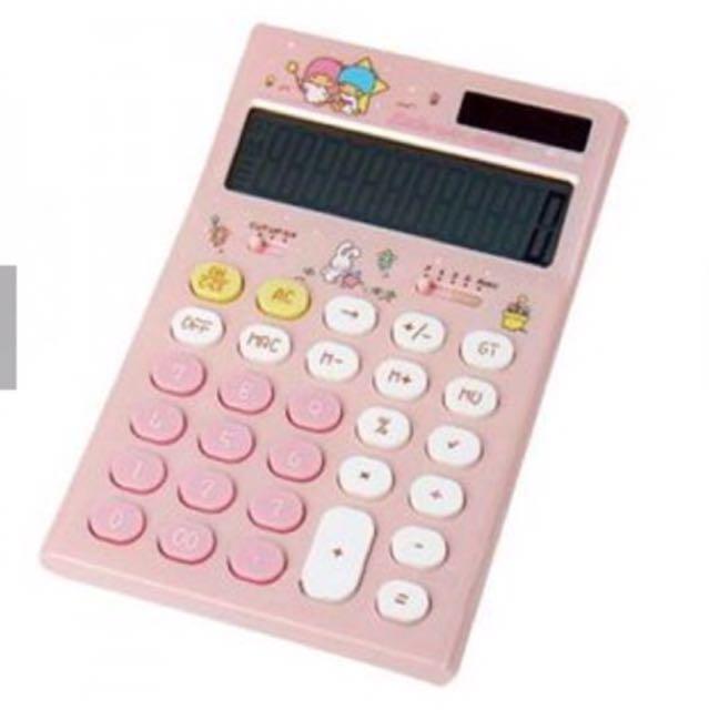 雙子星粉紅色計算機