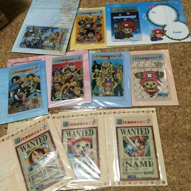 海賊王 悠遊卡 一卡通 共20張