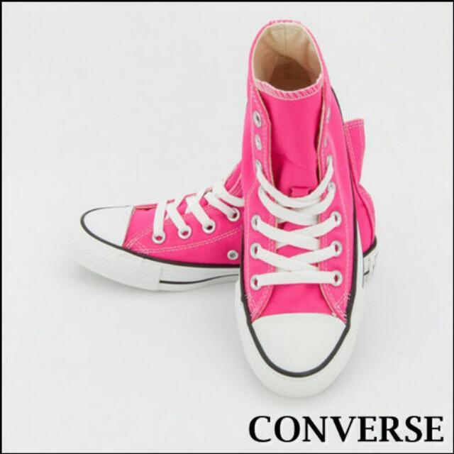 帆布鞋 Converse 粉色