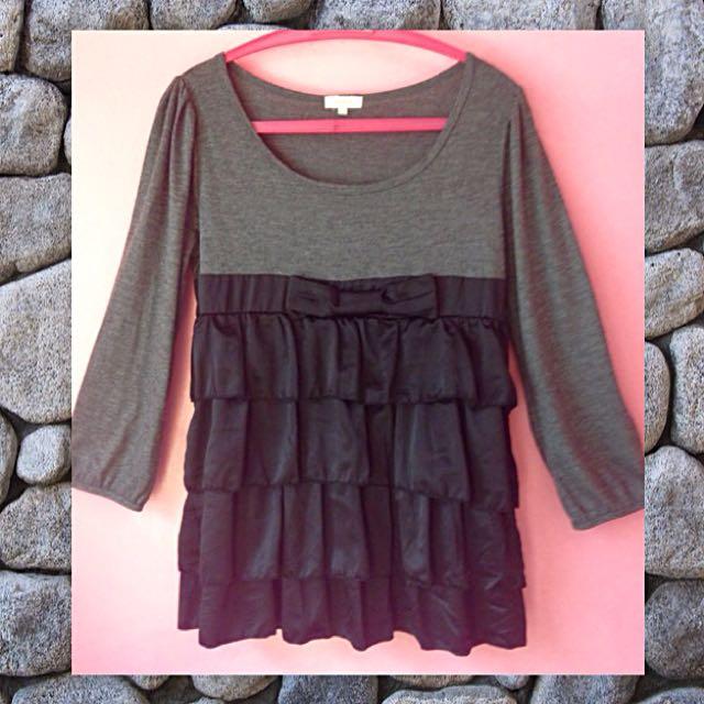 💋 DOLLY BLOUSE / Long Sleeve Blouse / Maternity Blouse