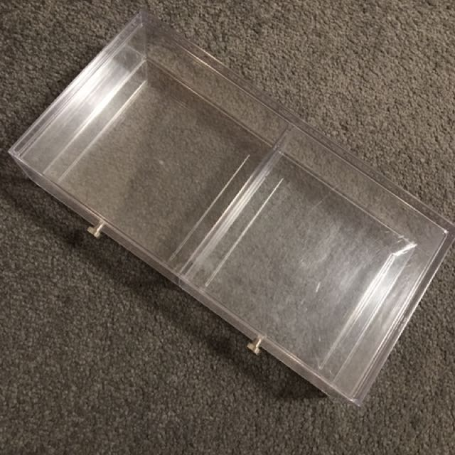 Acrylic 2 Drawer Organiser