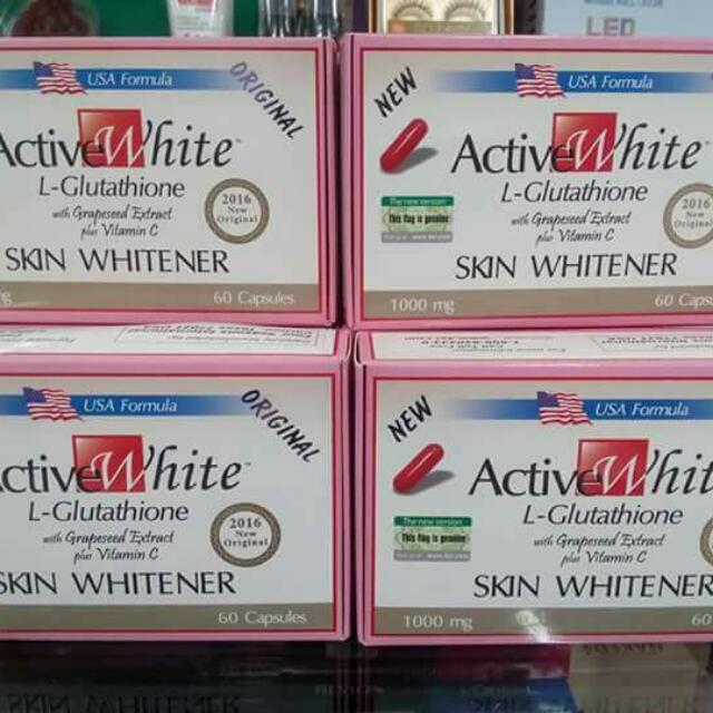 Active White Glutathione Capsules 60