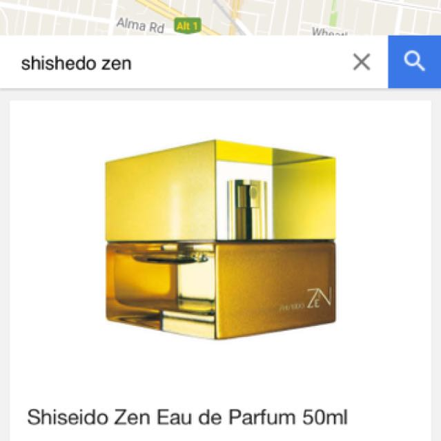 Almost New Sheseido Perfume 50ml