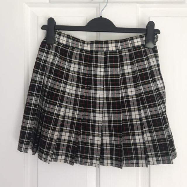 American Apparel Plain Skirt