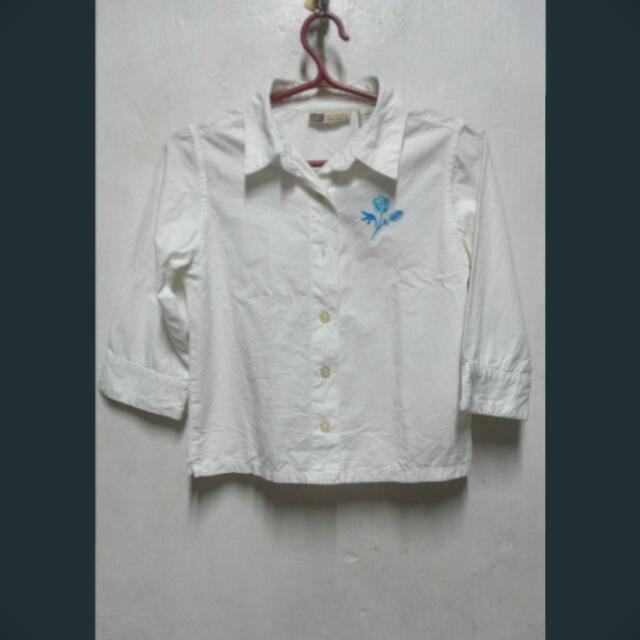 American Glory White Polo