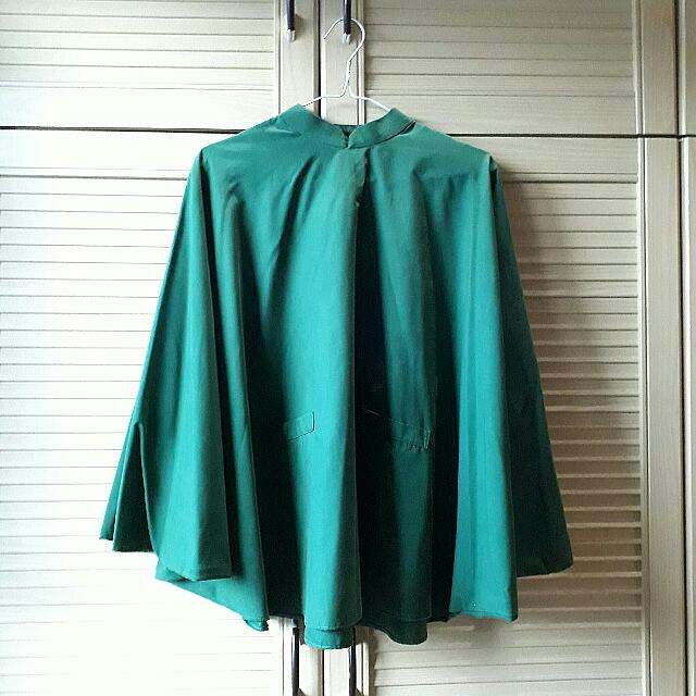 Army Green Batwing Top (PRELOVED)
